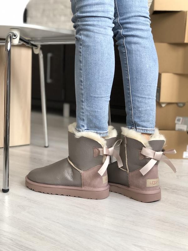 Шикарные женские зимние сапоги-ботинки ugg boots australia sil... - Фото 3