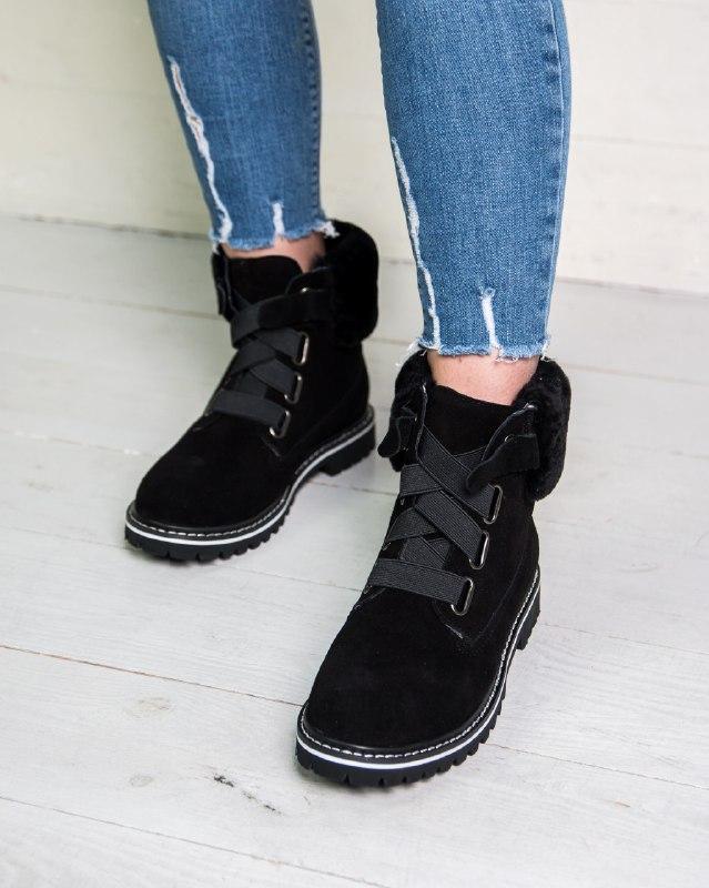 Шикарные женские зимние  ботинки ugg boots australia - Фото 2