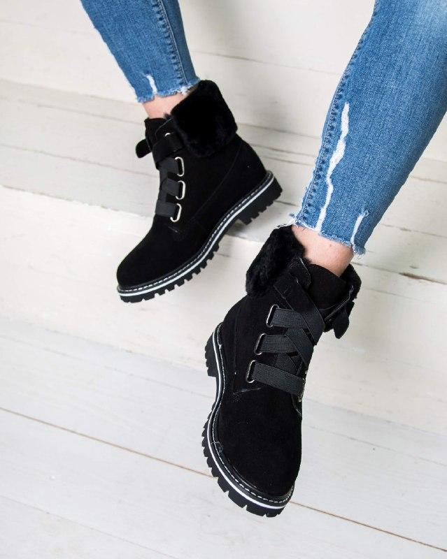 Шикарные женские зимние  ботинки ugg boots australia - Фото 3