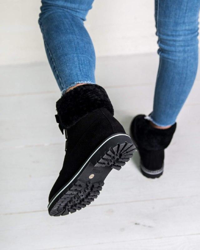 Шикарные женские зимние  ботинки ugg boots australia - Фото 4