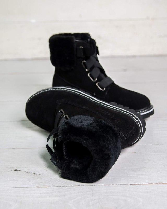 Шикарные женские зимние  ботинки ugg boots australia - Фото 5