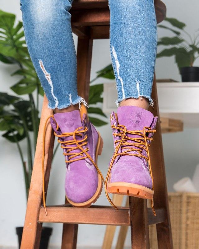 Шикарные женские  ботинки (еврозима) timberland boots - Фото 4