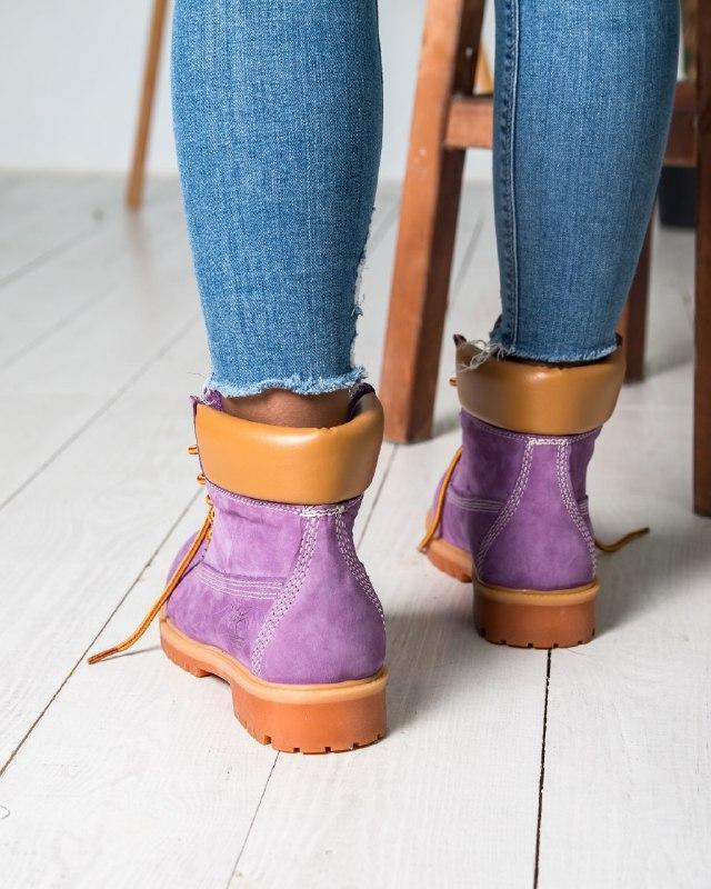 Шикарные женские  ботинки (еврозима) timberland boots - Фото 5