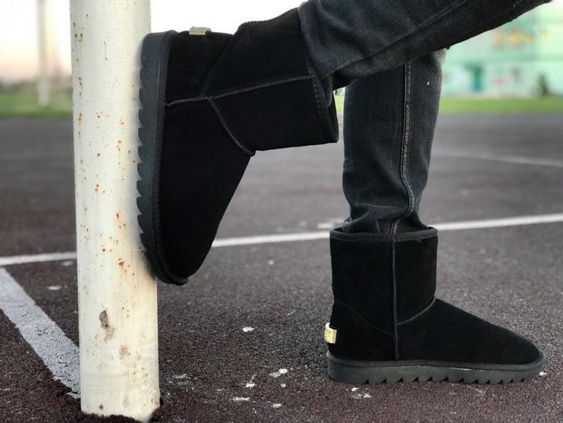 Шикарные мужские ботинки сапоги  угги ugg  boots australia bla...