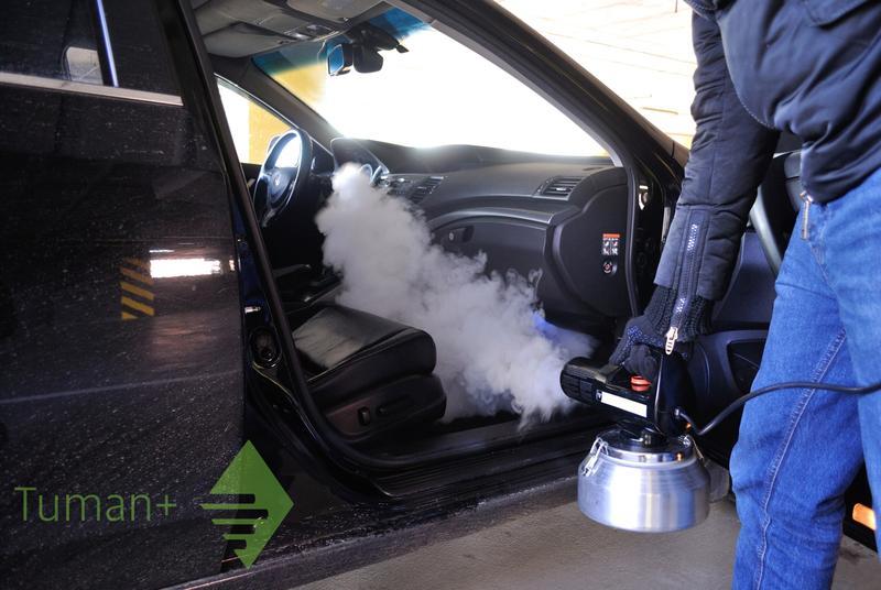 Устранение неприятных запахов в салоне автомобиля