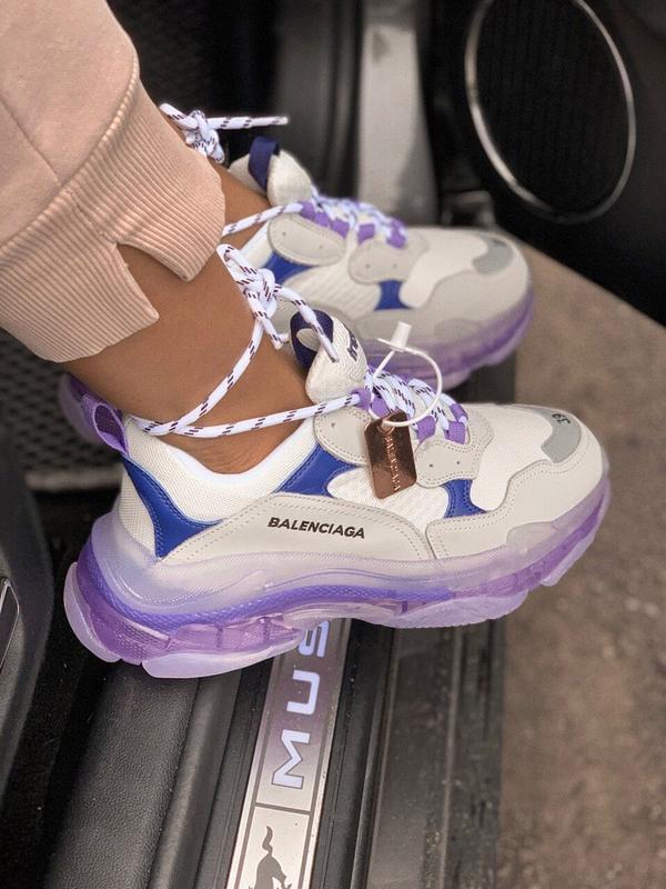 Шикарные женские кроссовки balenciaga triple s - Фото 5