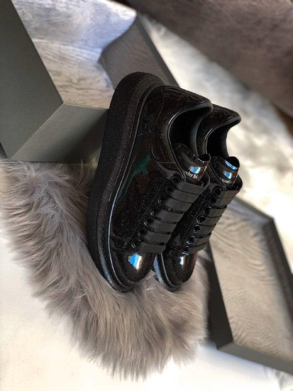 Шикарные женские кроссовки alexander mcqueen galaxy - Фото 3