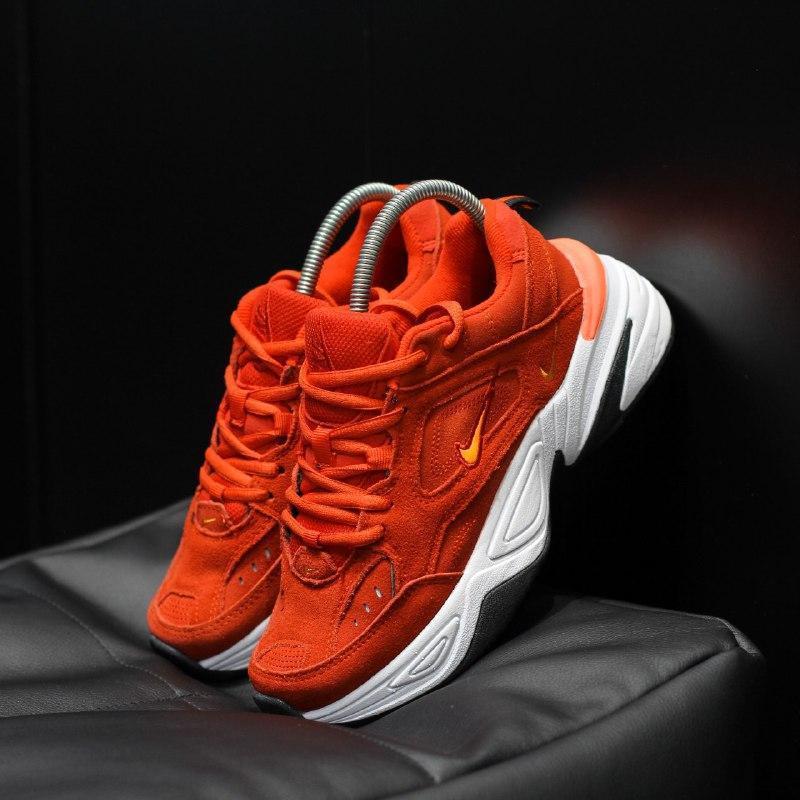 Шикарные женские кроссовки nike m2k tekno  red