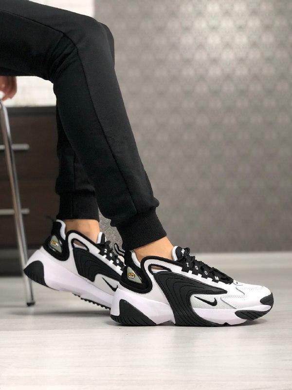 Шикарные  кроссовки унисекс  nike zoom 2k white/black