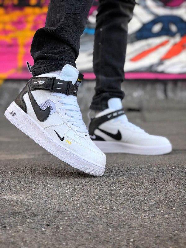 Шикарные кроссовки  унисекс nike air force high
