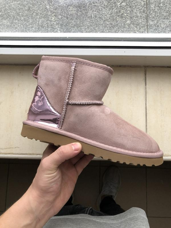 Шикарные женские зимние сапоги ботинки ugg boots australia pink