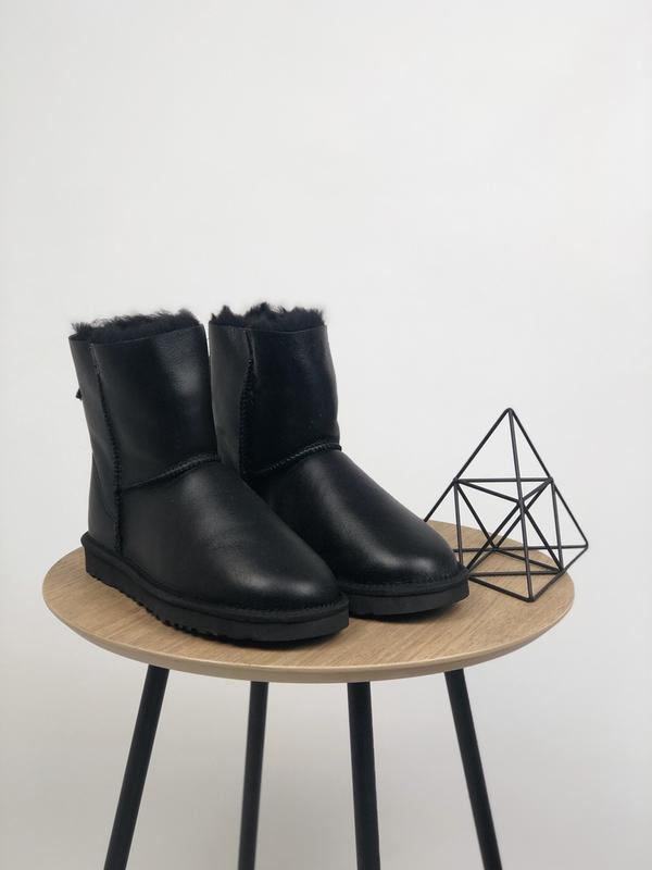 Шикарные женские зимние сапоги ботинки ugg boots australia black