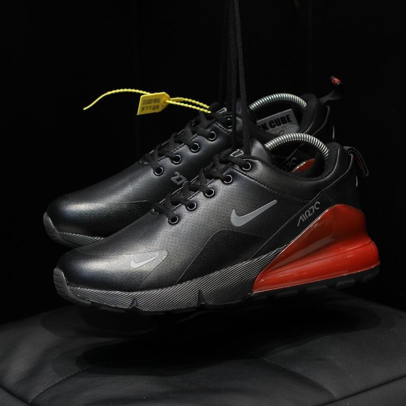Шикарные мужские зимние  кроссовки nike air max 270 winter bla... - Фото 5