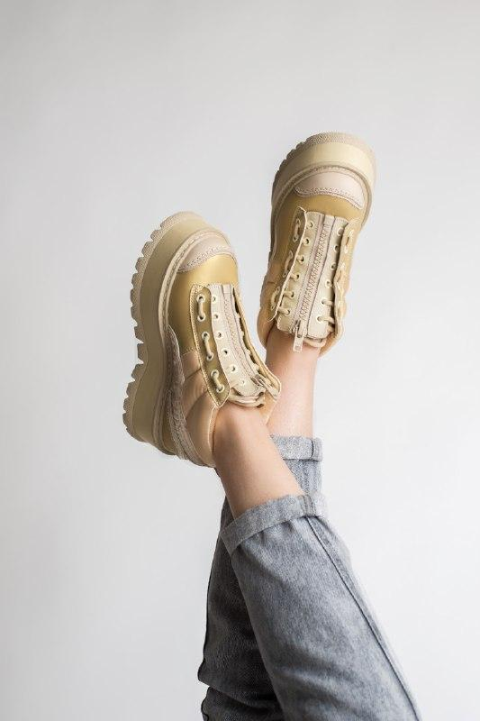 Шикарные женские кроссовки puma x fenty zipped sneaker boots - Фото 3