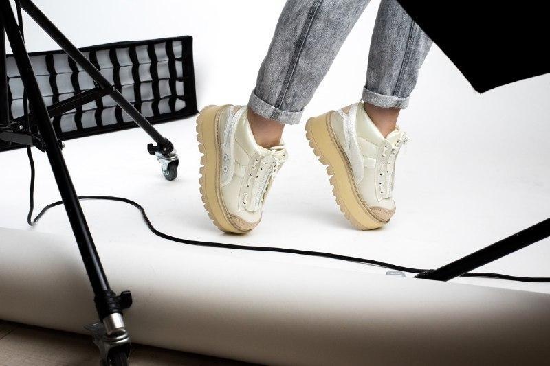 Шикарные женские кроссовки puma x fenty zipped sneaker boots - Фото 4