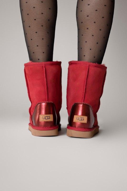 Шикарные женские зимние сапоги ботинки ugg classic short ii me... - Фото 5