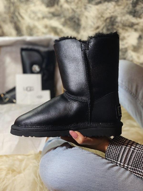 Шикарные женские зимние сапоги ботинки с мехом  ugg boots aust... - Фото 3