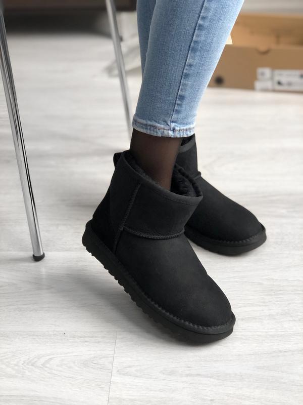 Шикарные женские зимние сапоги ботинки ugg boots australia bla...