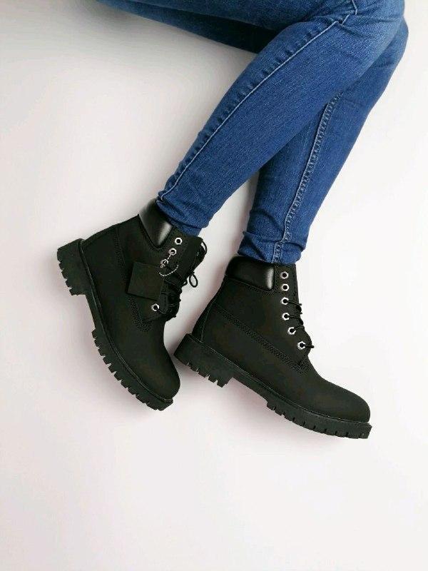 Шикарные женские  осенние термо ботинки timberland classic - Фото 2