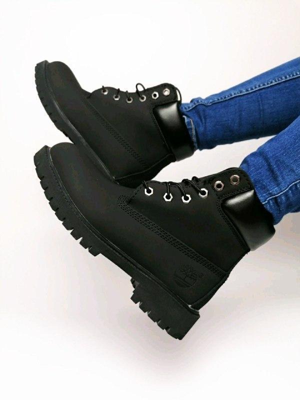 Шикарные женские  осенние термо ботинки timberland classic - Фото 3
