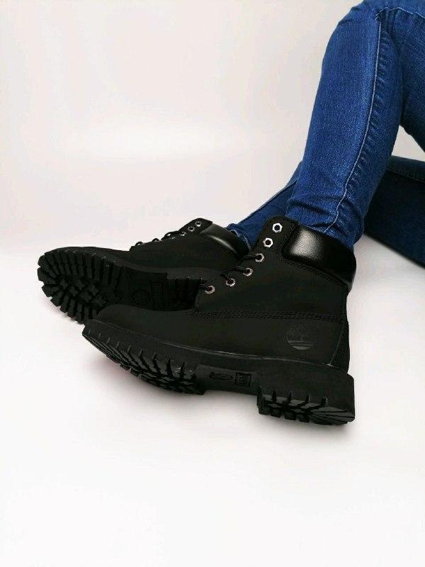 Шикарные женские  осенние термо ботинки timberland classic - Фото 4