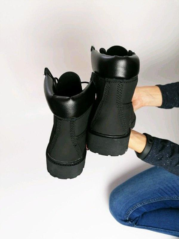 Шикарные женские  осенние термо ботинки timberland classic - Фото 5