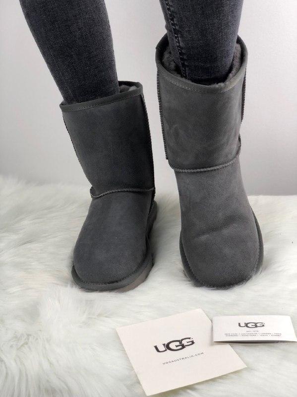 Шикарные женские зимние сапоги ботинки ugg classic short ii bo...