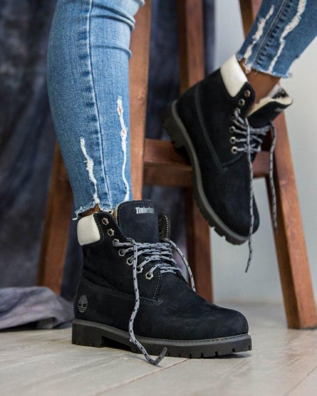 Шикарные женские  зимние  ботинки timberland classic