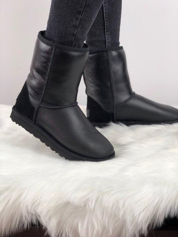 Шикарные женские зимние сапоги ботинки ugg classic short ii  (...