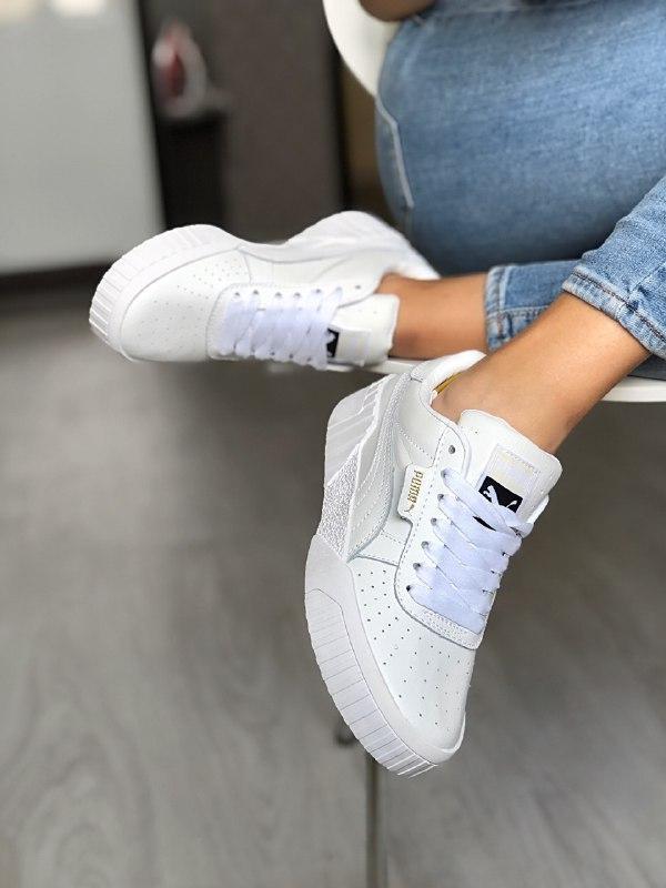 Шикарные женские кроссовки puma cali