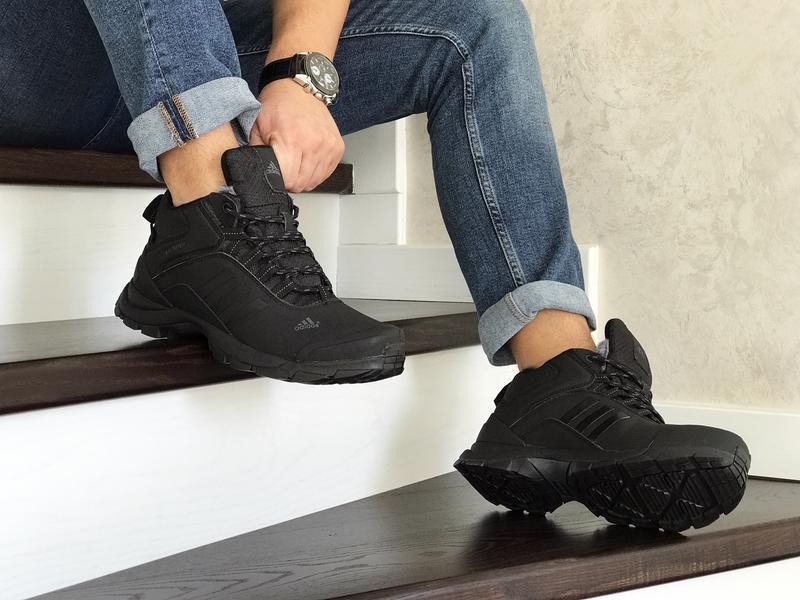 Шикарные мужские зимние теплые ботинки adidas climaproof - Фото 2