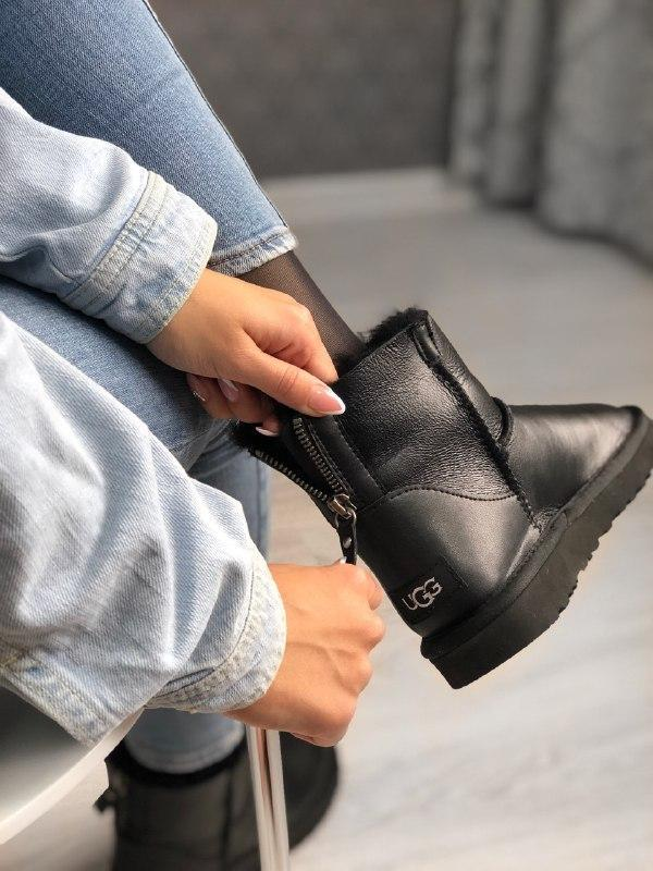Шикарные женские зимние сапоги ботинки с мехом ugg boots austr...