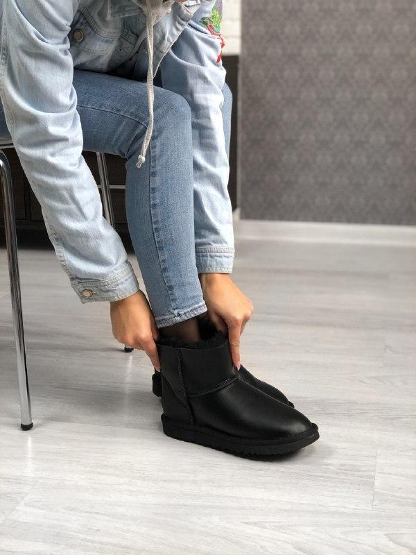 Шикарные женские зимние сапоги ботинки с мехом ugg boots austr... - Фото 3