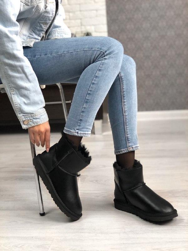 Шикарные женские зимние сапоги ботинки с мехом ugg boots austr... - Фото 4