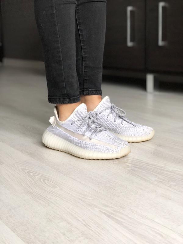 Шикарные  кроссовки adidas yeezy boost 350 static