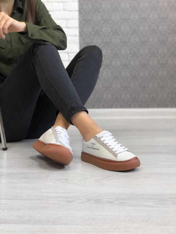 Шикарные женские кроссовки puma x han kjobenhavn - Фото 2