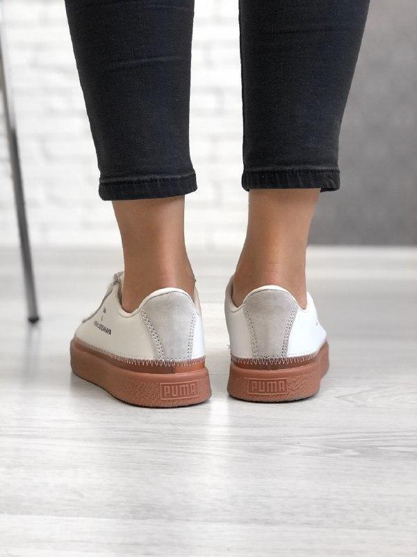 Шикарные женские кроссовки puma x han kjobenhavn - Фото 4