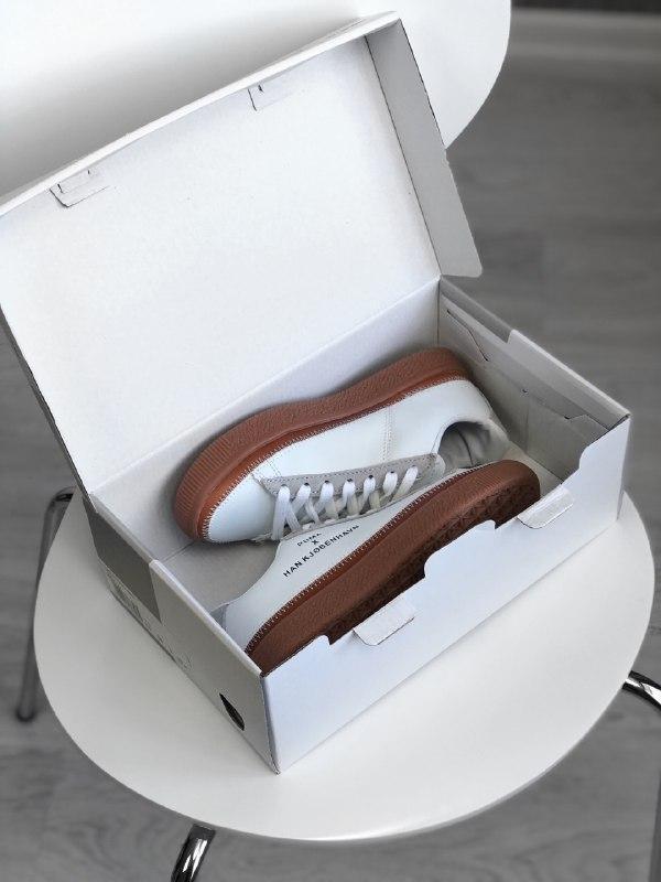 Шикарные женские кроссовки puma x han kjobenhavn - Фото 5