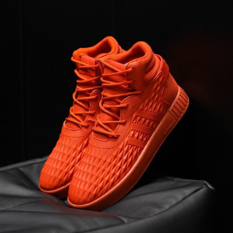 Шикарные мужские термо  кроссовки adidas tubular invader