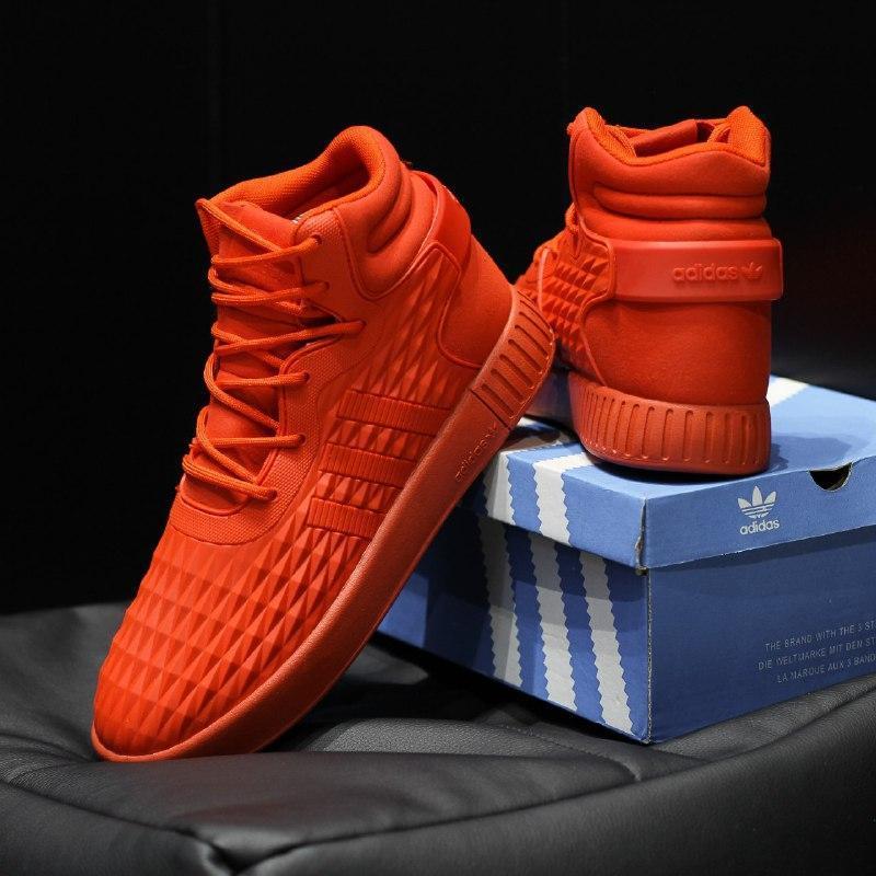 Шикарные мужские термо  кроссовки adidas tubular invader - Фото 3
