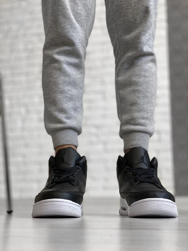 Шикарные мужские кроссовки nike air jordan retro 4 - Фото 3