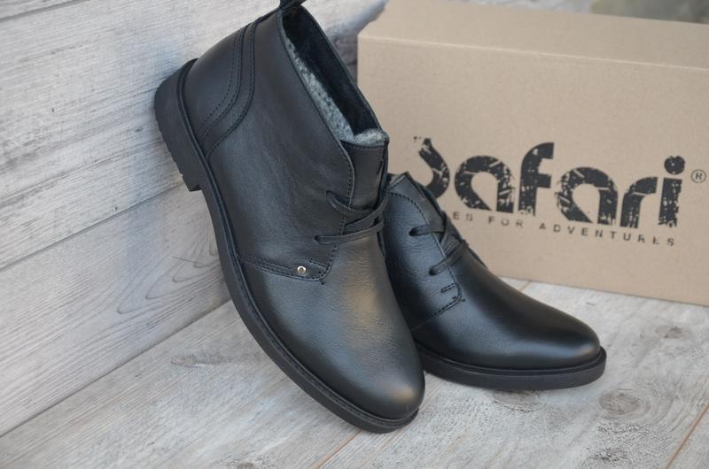 Шикарные мужские зимние ботинки туфли hudromax classic