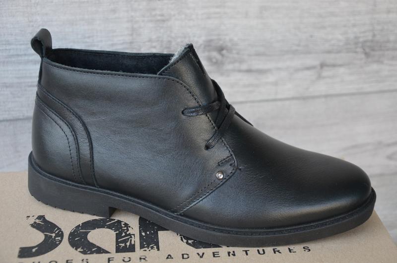 Шикарные мужские зимние ботинки туфли hudromax classic - Фото 4