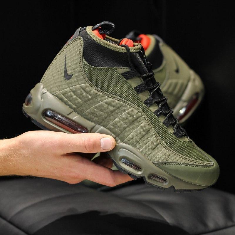 Шикарные мужские кроссовки nike air max 95 sneakerboot  осень ... - Фото 2
