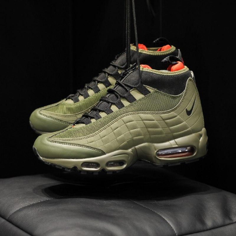 Шикарные мужские кроссовки nike air max 95 sneakerboot  осень ... - Фото 5
