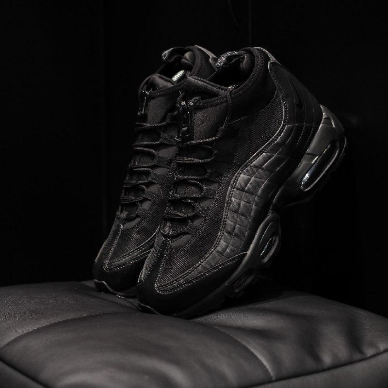 Шикарные мужские кроссовки  nike air max 95 sneakerboot осень ...
