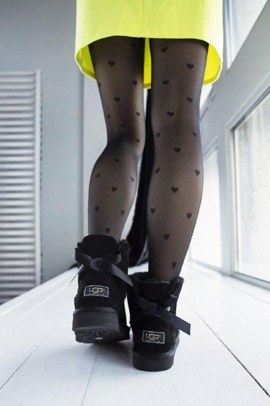 Шикарные женские зимние сапоги угии ugg bailey bow mini - Фото 4