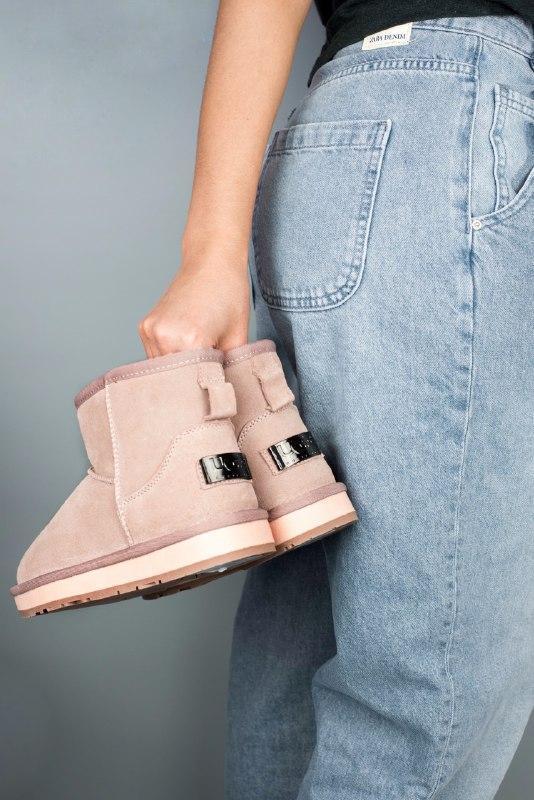 Шикарные женские зимние сапоги угии ugg ugg classic mini pink