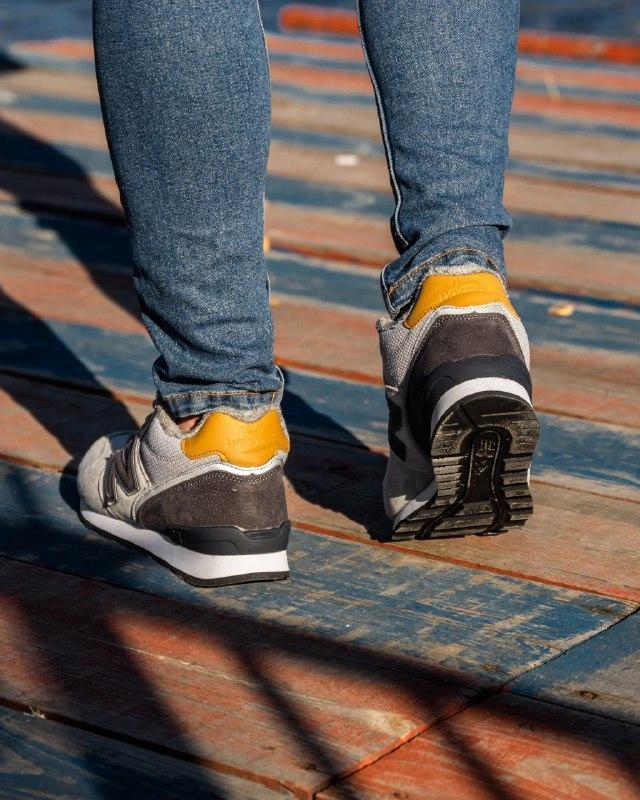 Шикарные мужские зимние кроссовки new balance winter grey  с м... - Фото 4