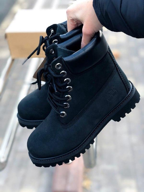 Шикарные женские зимние ботинки на меху timberland premium inc...